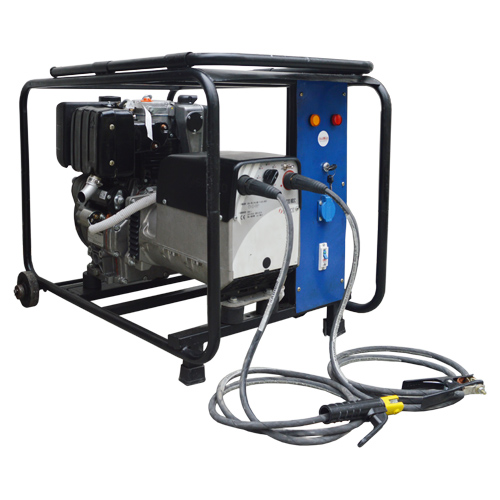 Diesel Engine Driven Welder