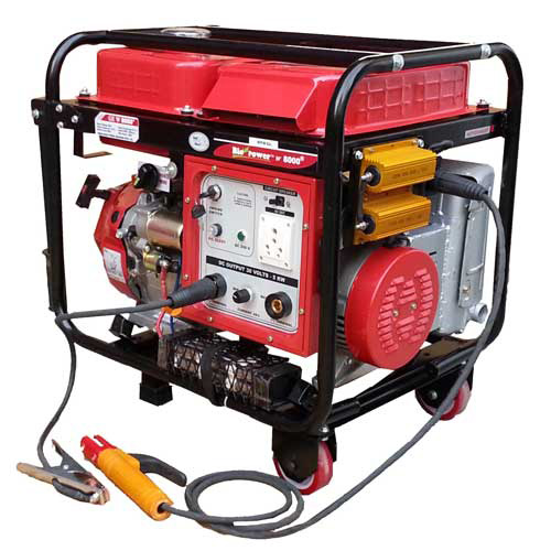 portable welding generator