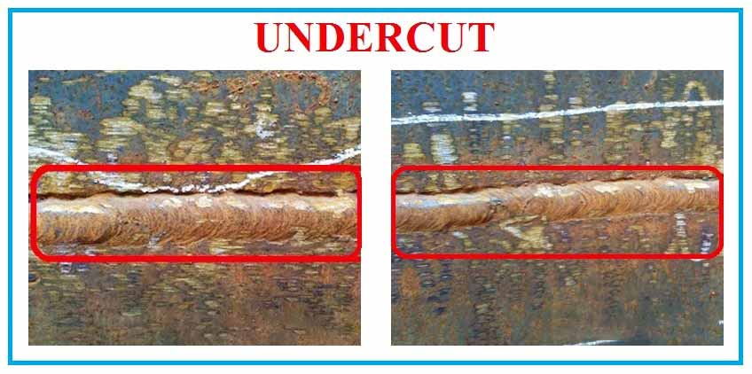 Undercut Welding Defects