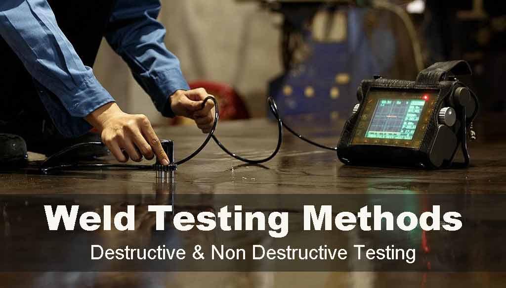 destructive and nondestructive testing