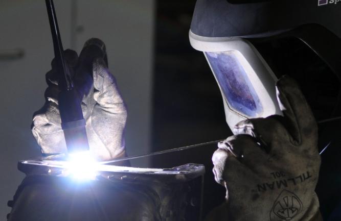 Aluminum Welding Process